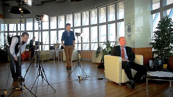 Видео-отзыв от мультимиллионной IT компании CC-Interactive (Ciklum) для Fantastic Imago или как правильно снимать видео-отзыв