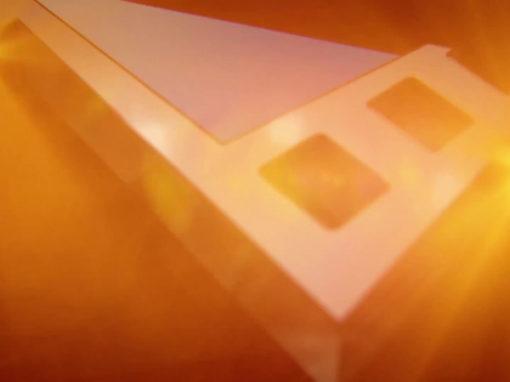 3D анимационный видео логотип для компании Lucine Distribution & Productions