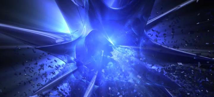 Разрушение звезды — 3D анимационный видео логотип для компании Fantastic Imago