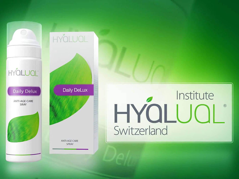 3D анимационный рекламный ролик для бренда Institute Hyalual Switzerland