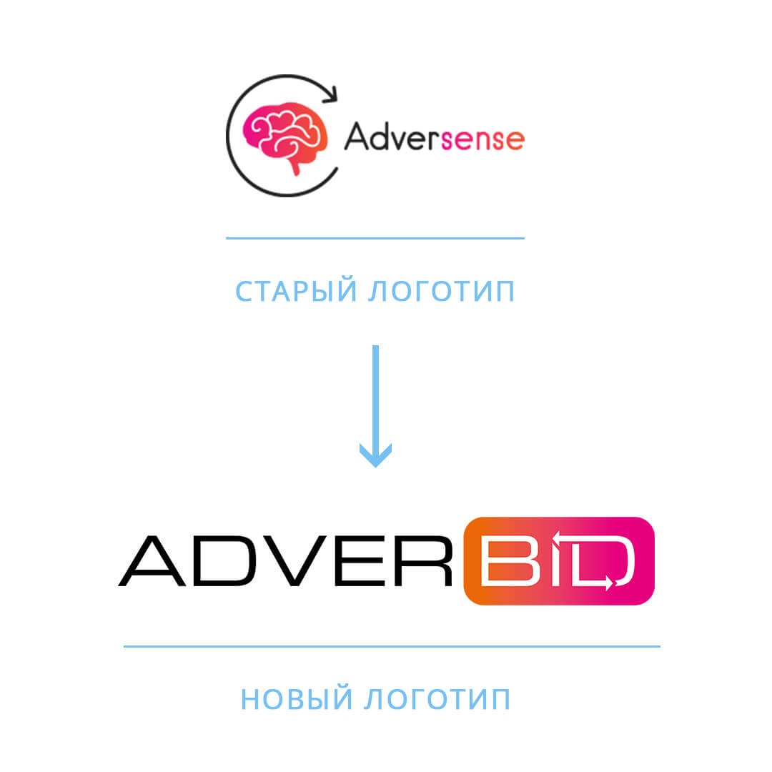 Разработка фирменного логотипа и ребрендинг для американской компании AdverBID от Fantastic Imago