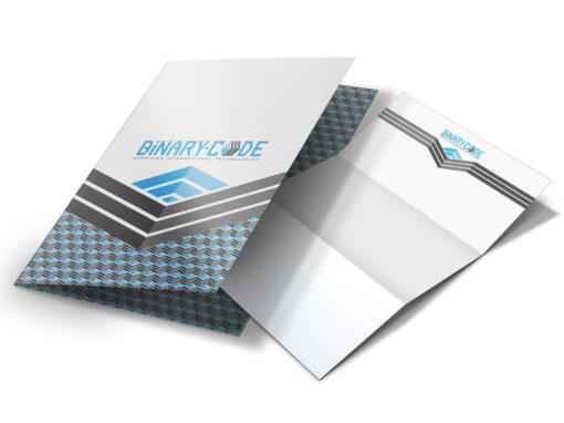 Создание и разработка бренда компании, логотипа и упаковки для Binary-Code (брендинг) в Украине
