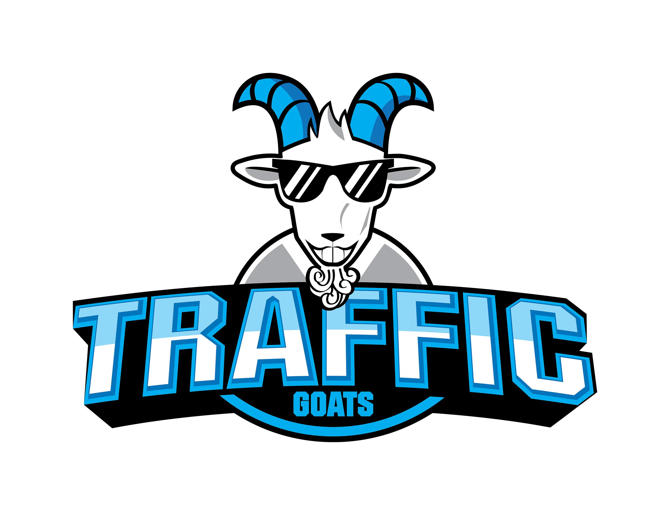 Traffic Goats Fantastic Imago разработка логотипа цена, создать логотип, разработать логотип, разработка логотипа компании, создание фирменного логотипа