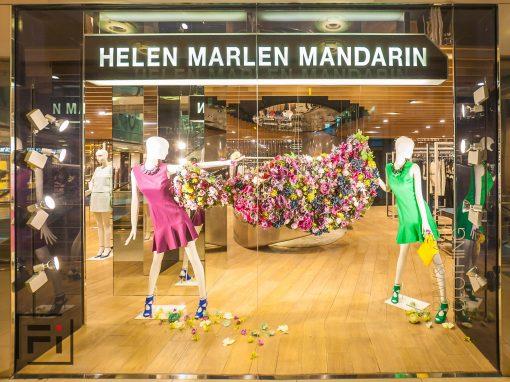 Витринная, интерьерная, экстерьерная и предметная фотосъёмка для Украинского Ритейл Бренда обуви и одежды Helen Marlen Group